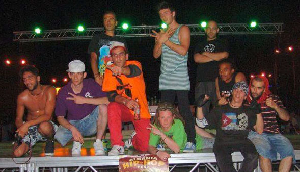 Team Albania Hip-Hop Fest 2012